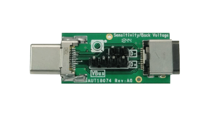 USB-C® - Back Voltage & Sensitivity Fixture