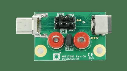 USB-C® - Inrush/Bypass Capacitance Measure Fixture