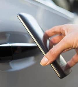 汽車天線、行動電話與汽車感應鑰匙的應用與干擾