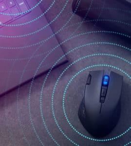 無線雙模滑鼠共存效能之研究與測試
